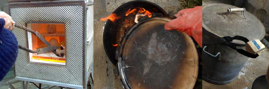 cuisson technique raku