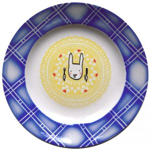 assiette lapin gourmand