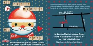 flyer petit marché de nantes 2011 lettre scrabble