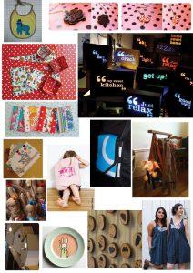 mosaique des créateurs du petit marché de scopic 2011