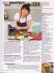 Article de elle magazine julie la reine du cupcake