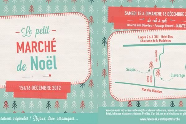 Petit Marché de Noël 2012 chez Scopic à Nantes