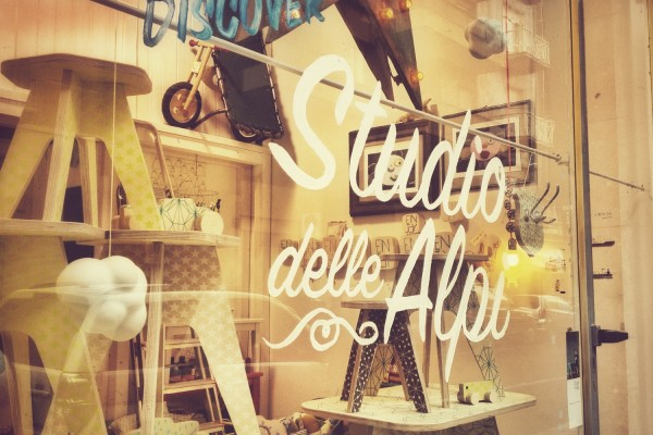 Lapincitron dans une nouvelle boutique en Italie