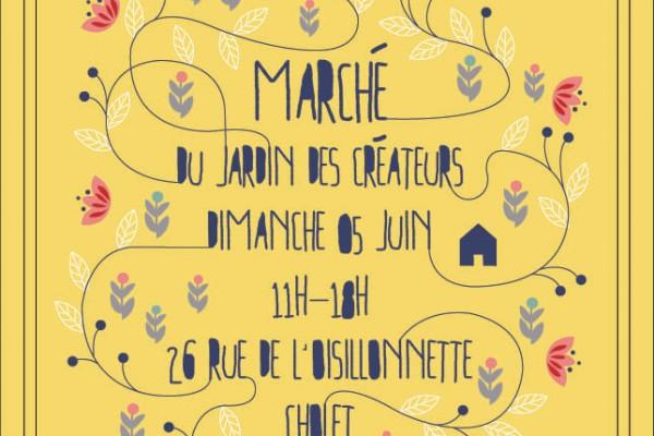 **Jardin des créateurs** à Cholet