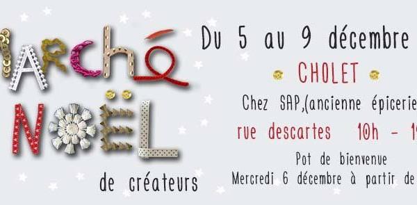 Vente de Noël à Cholet, décembre 2017
